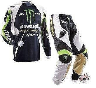 Комплект для мотокросса Kawasaki monster Energy THOR