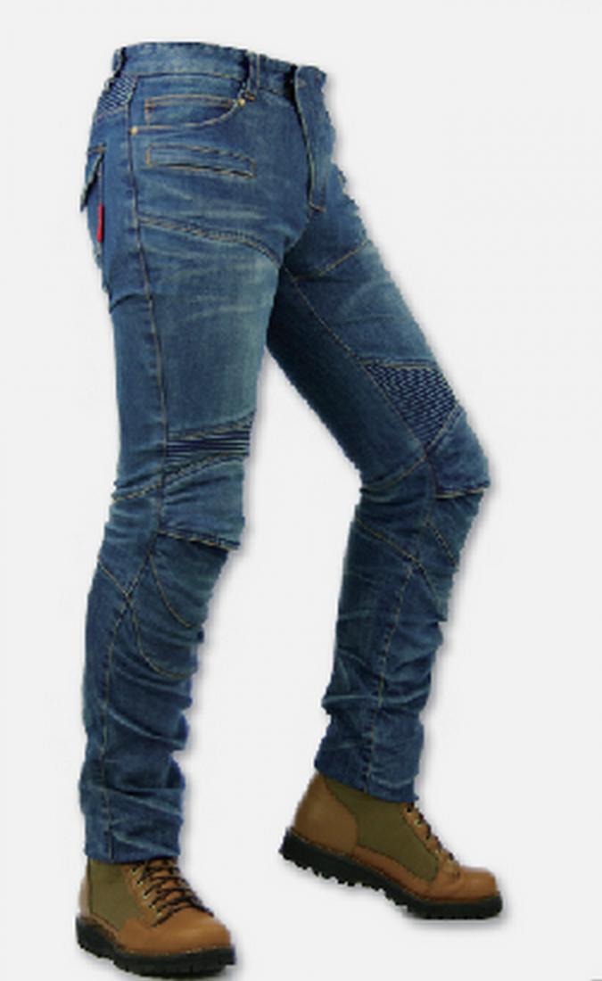 Мотоджинсы KOMINE PK 718 Kevlar super fit (женские и мужские размеры)