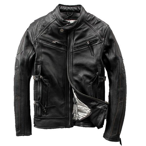 Куртка (кожа) Harley-Angel Skull