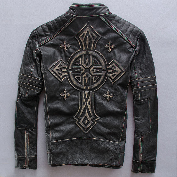 Мотокуртка Affliction American Castoms Cross