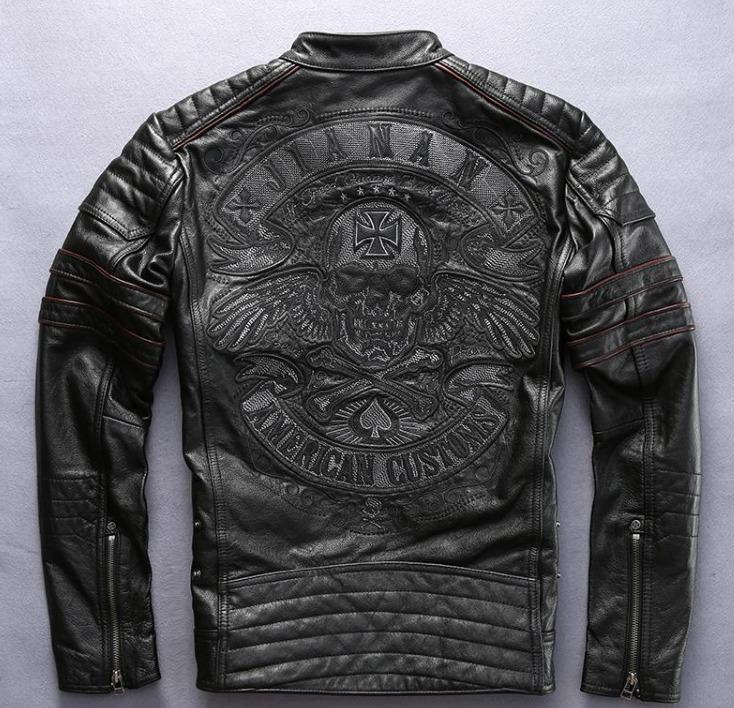 Мотокуртка Jianan American Customs кожа 5738