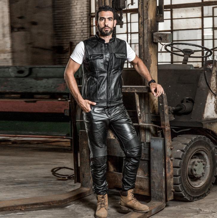 Мотожилет кожаный Harley Davidson - Harley Angel ha-17